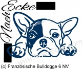 Sticker French Buldog 6