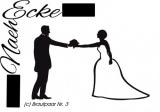 Aufkleber Brautpaar Nr. 3