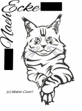 Sticker Maine Coon 1